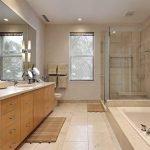 Душевая в дизайне ванной