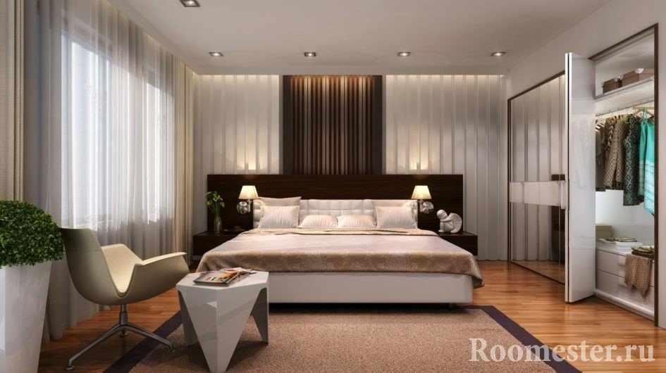 Оригинальная мебель в спальне