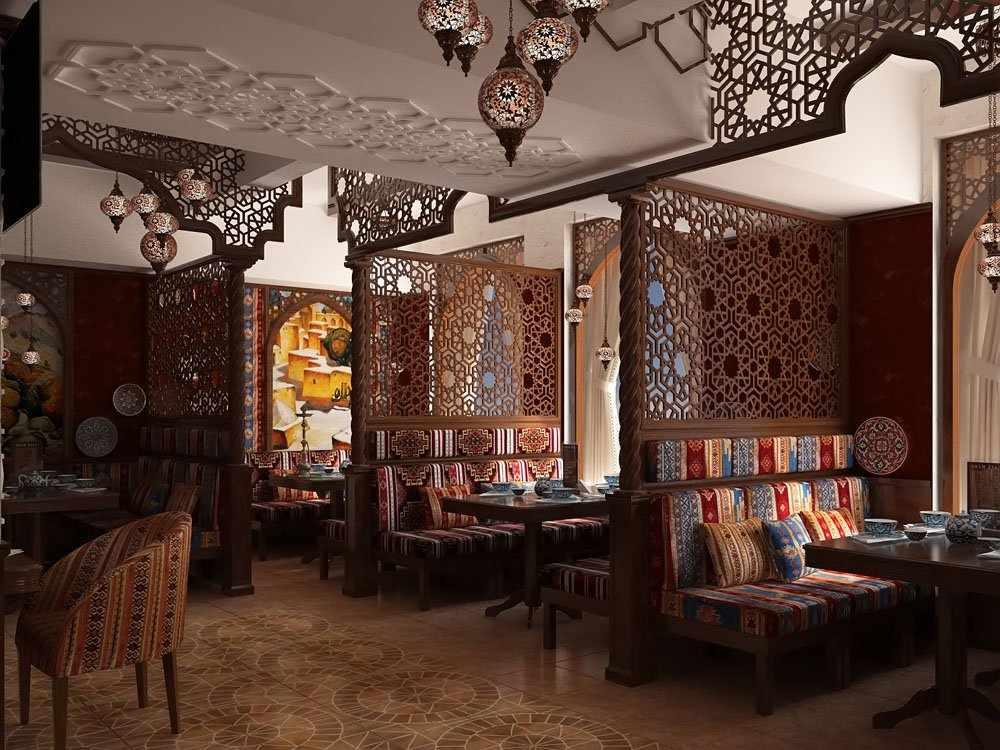 Восточный стиль ресторана