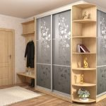 Шкаф-купе для одежды в прихожей