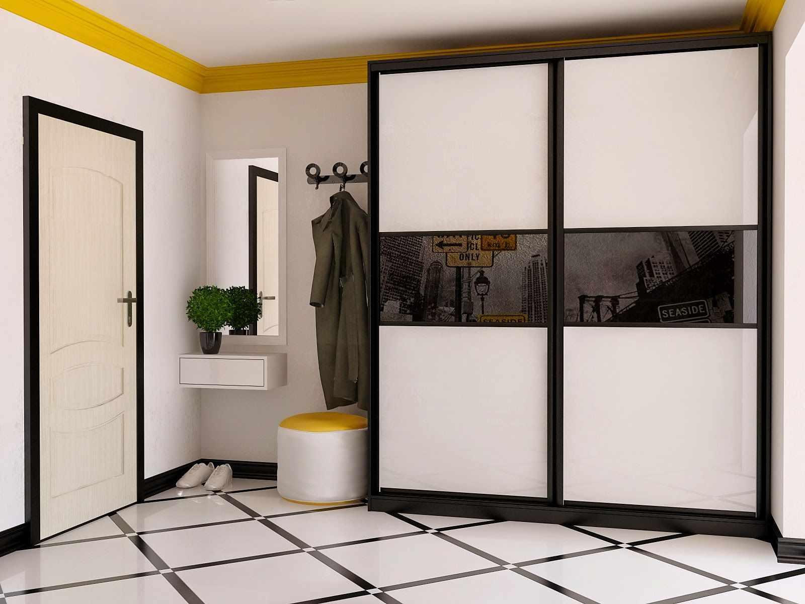 Простой гардероб для коридора