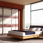 Шкаф-купе для спальни в частном доме