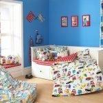 Красочный текстиль для комнаты