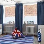 Комната в синих тонах