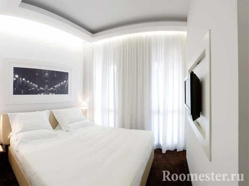 Дизайн спальни 10 квадратных метров