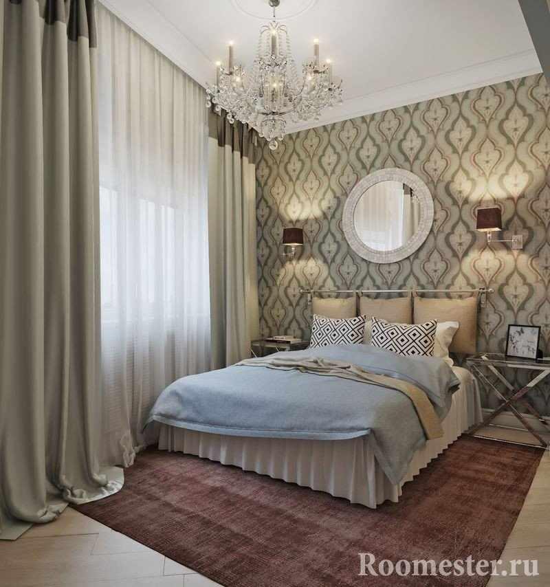 Стильная спальня в классическом стиле