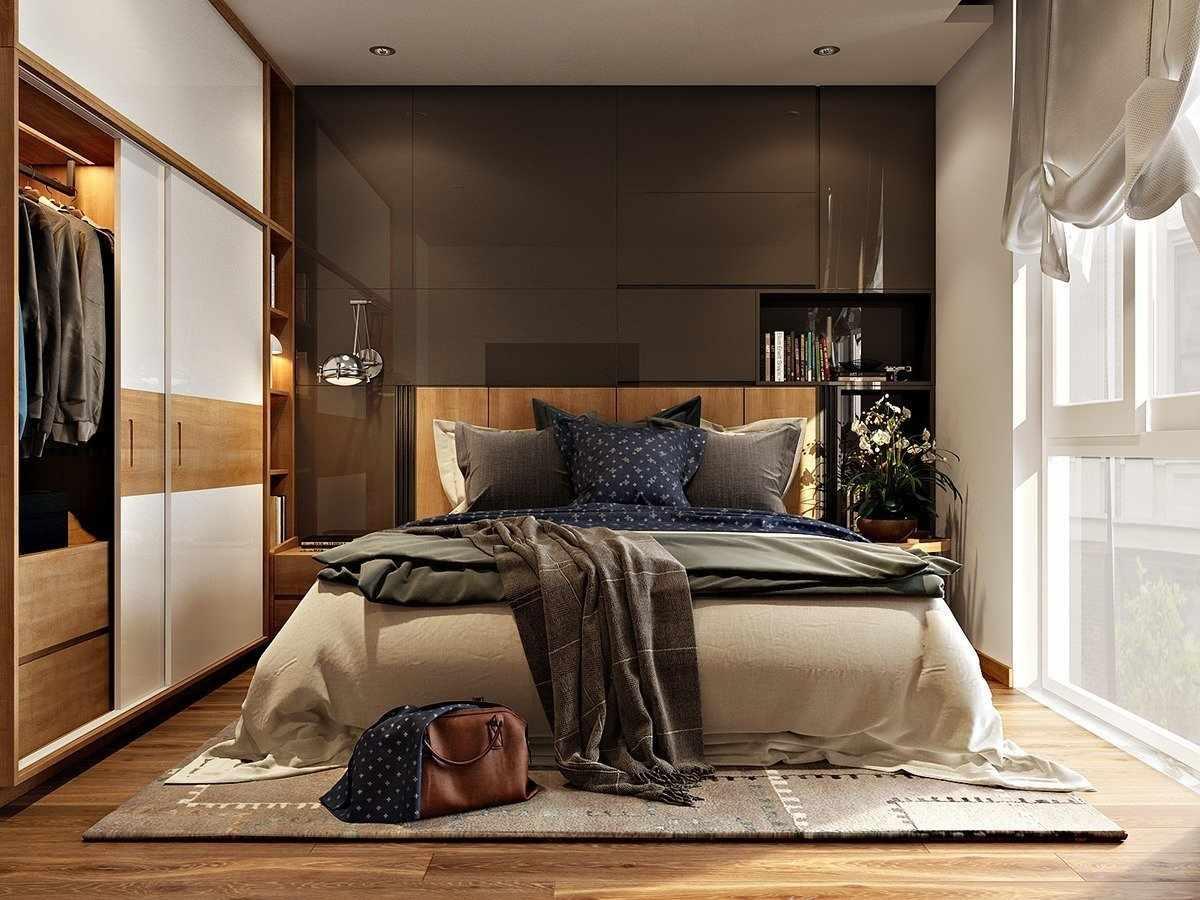Благородный интерьер спальни