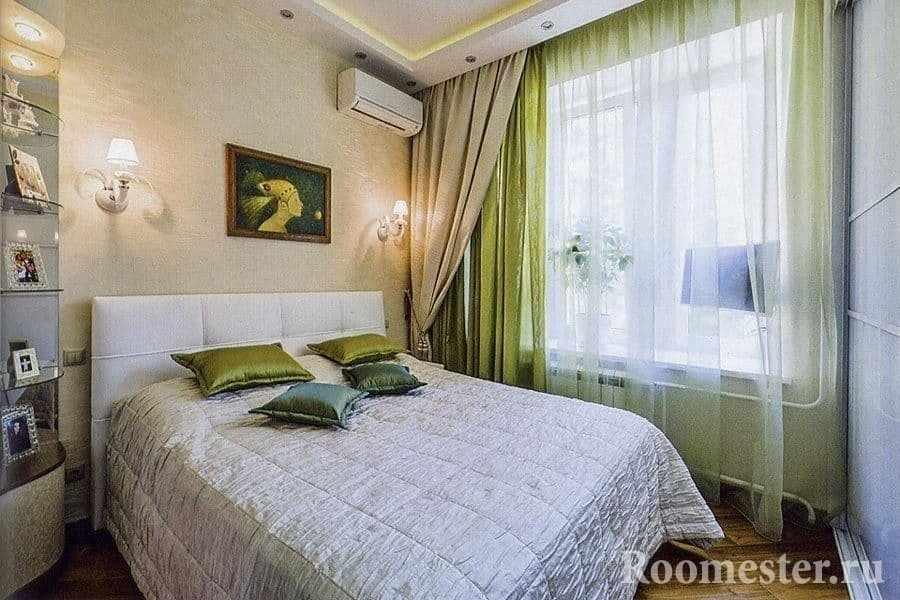 Дизайн маленькой спальни 13 кв м