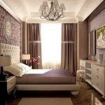 Спальня в стиле борокко