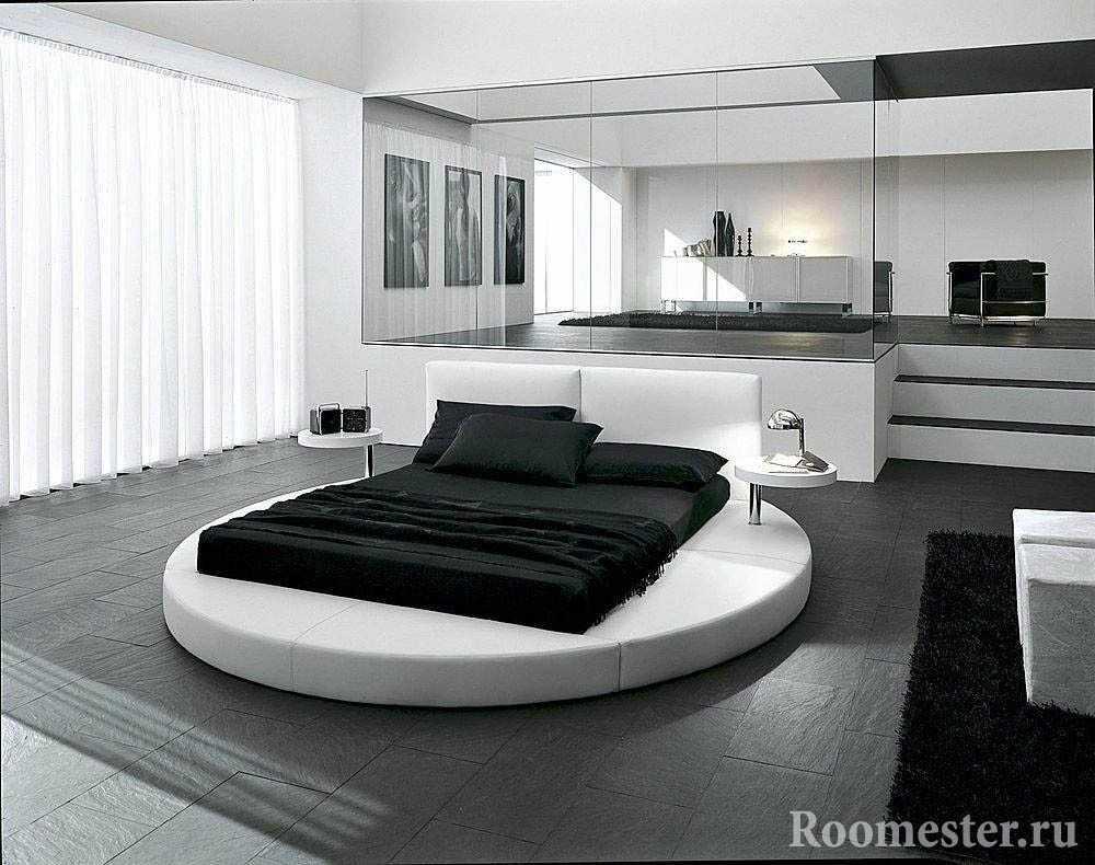 Круглая кровать