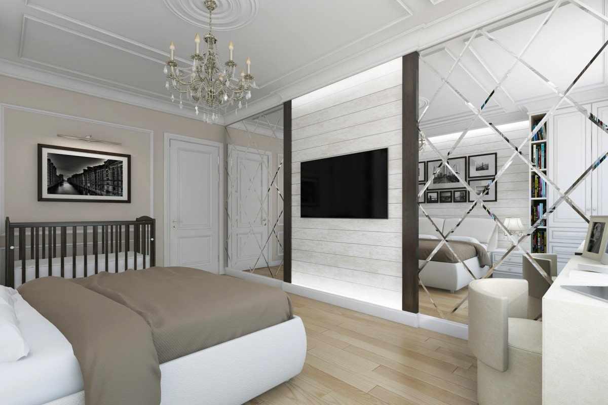 Зеркала в оформлении спальни