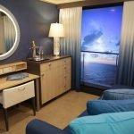 Голубой в дизайне спальни