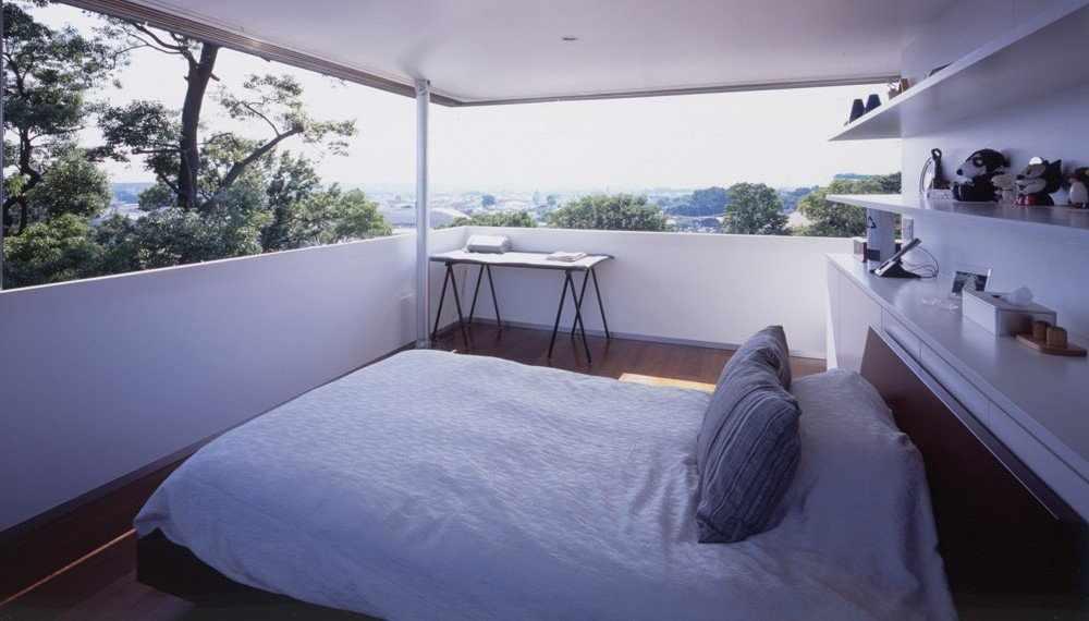 световые фальш окна в спальне