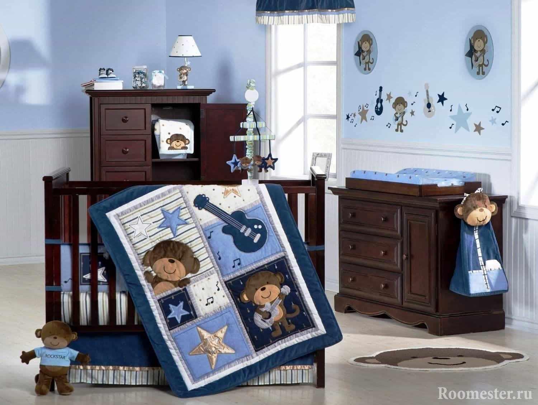 Дизайн спальни для маленького мальчика