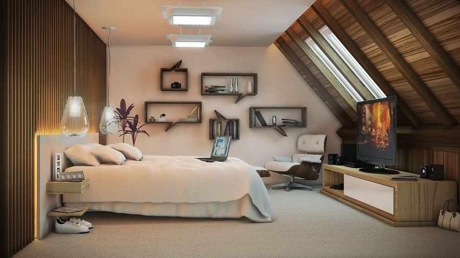 Планировка спальни для взрослых