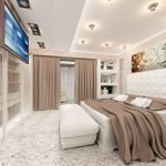 Телевизор под потолком