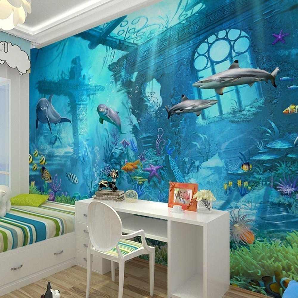 Фотообои с подводным миром