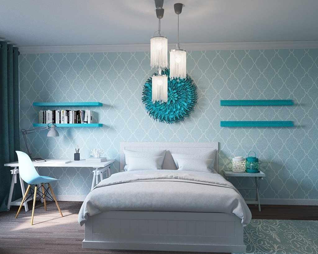 Оригинальный декор спальни
