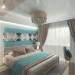 Элитный ремонт в спальне
