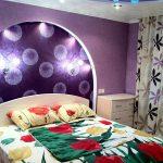 Оригинальное изголовье кровати с подсветкой