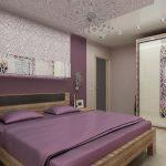 Узоры в интерьере спальни