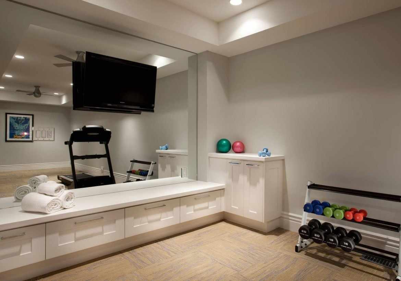 Дизайн комнаты для тренировок
