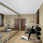 Мини спортзал в квартире