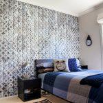 Оригинальная стена в спальне
