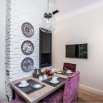 Декоративные тарелки на стене