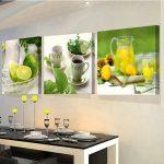 Картины над столом