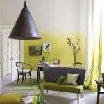 Окраска стен в стиле омбре