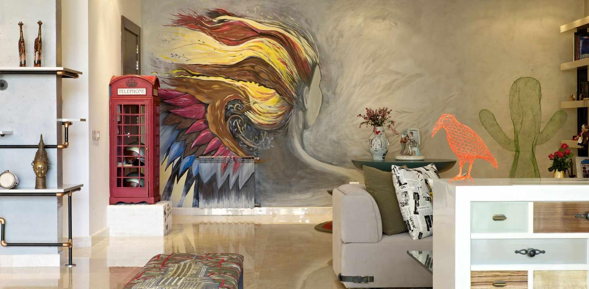 Ручная роспись стен
