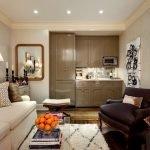 Расположение мебели в маленькой квартире