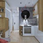 Дизайнерская мебель для небольшой квартиры