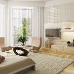 Телевизор напротив дивана