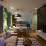 Дизайн трехкомнатной квартиры 80 кв.м.