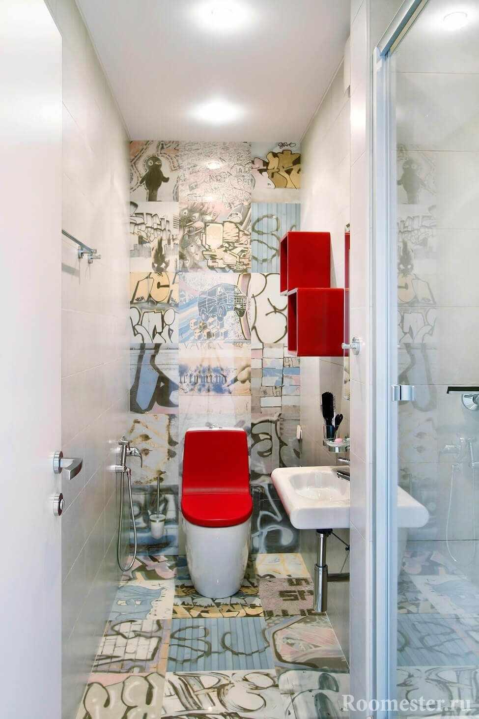 Арт дизайн туалета