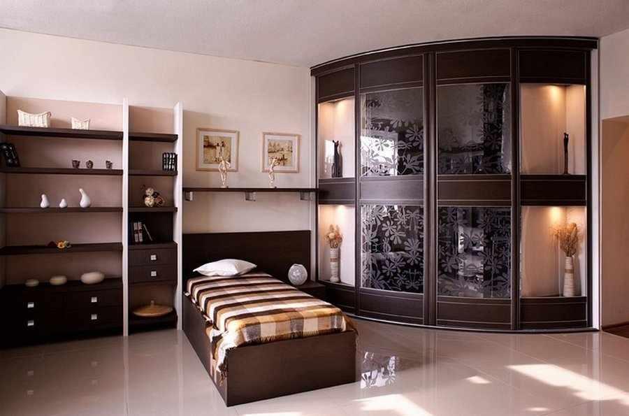 Круглый шкаф