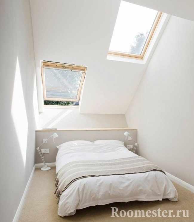 Романтичная спальня с видом на звезды