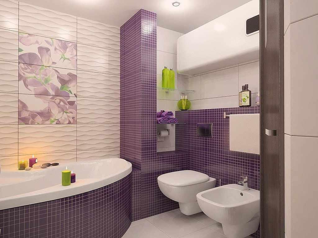 Клетка в дизайне ванной комнаты