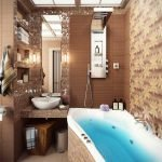 Дизайнерский проект ванной