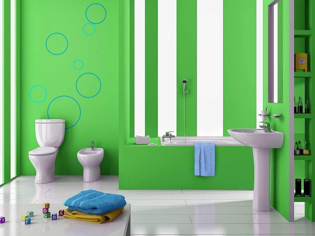 Зеленые пластиковые панели