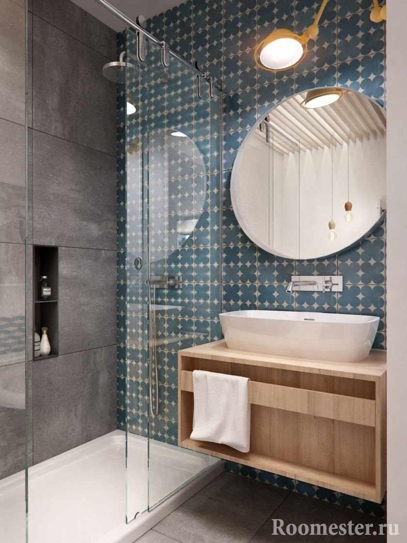 Небольшая ванная комната на 3 метрах