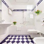 Сантехника в ванной 5 кв м