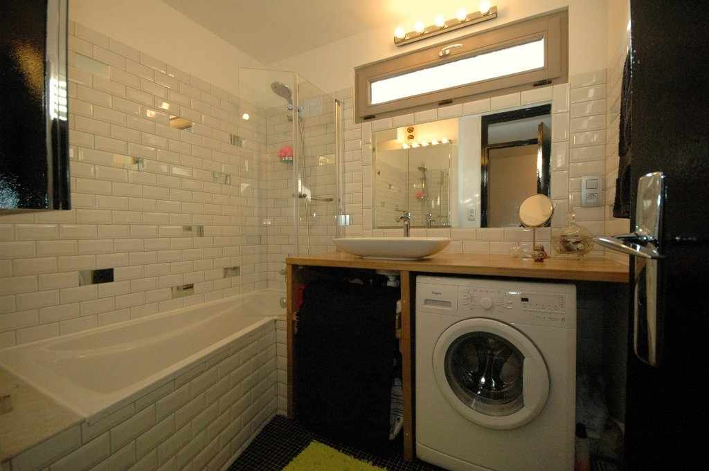 Декор ванной со стиралкой