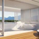 Панорамное окно в ванной