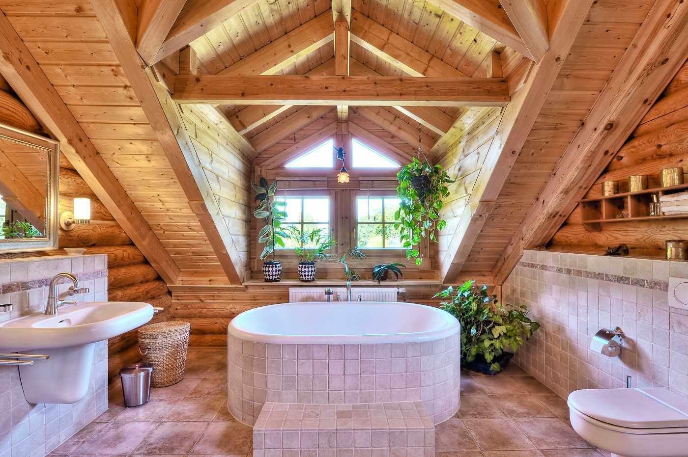 Вентиляция ванной в деревянном доме
