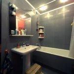 Освещение в небольшой ванной