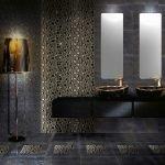 Освещение в темной ванной