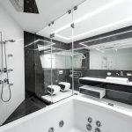 Джакузи в ванной комнате